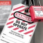 What is the Standard Electrical Lockout Procedure?