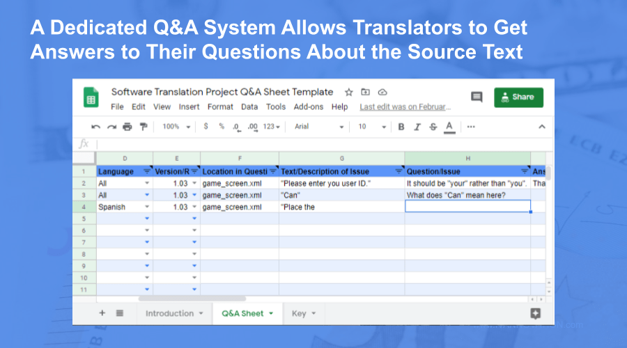 how translators get answers