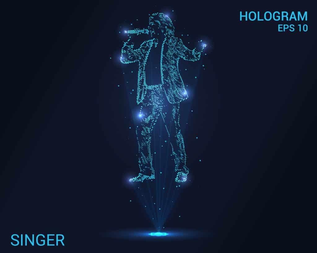 hologram singer